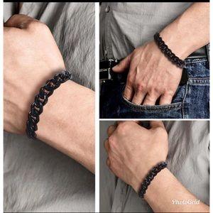 Metal Stainless Steel Curb Chains Bracelet / Men